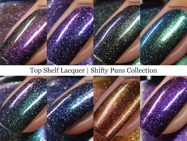 Top Shelf Lacquer | Shifty Puns Collection