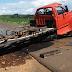 Grave acidente com caminhão leiteiro em Nova Laranjeiras