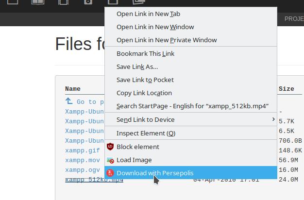 Ubuntu 18 04: Install and Integrate Persepolis Download Manager