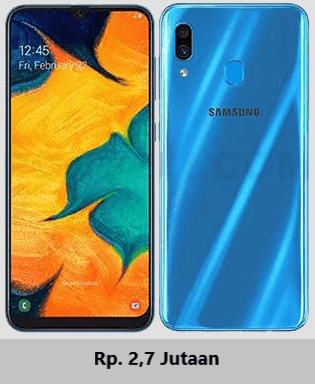 Harga terbaru Samsung Galaxy A30