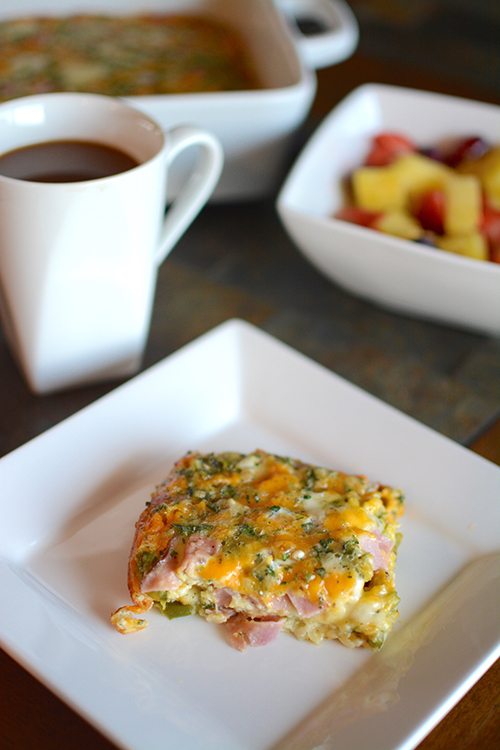 Make: The Best Damn Egg Bake | My Darling Days