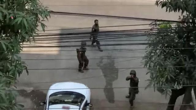 Junta Militer Minta Pemerintah India Kembalikan 8 Polisi Myanmar yang Kabur.lelemuku.com.jpg
