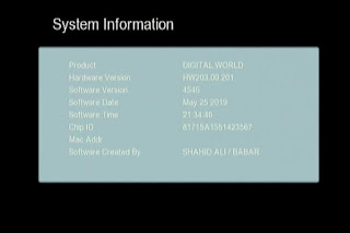GX6605S HW203.00.201 HD RECEIVER CLINE OK NEW SOFTWARE