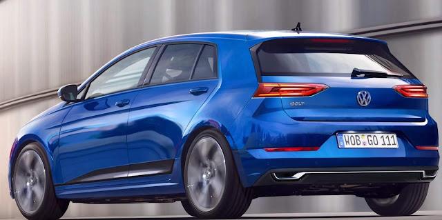 Novo VW Golf Mk8 2018