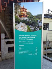 Admission to Chinese Garden of Friendship at Darling Harbour