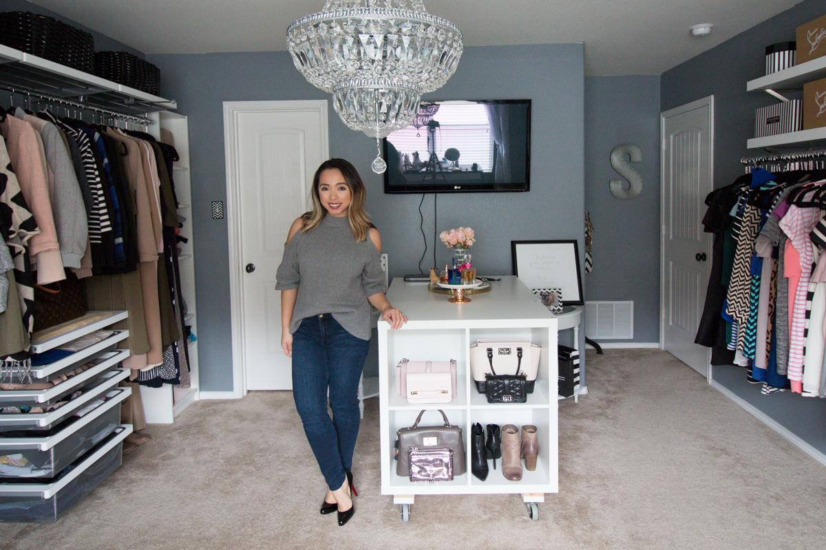 Dressing Room Update Elfa Closet System With Elfa