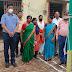 लक्ष्मीपुर : बाल विकास योजना कार्यालय में सोशल डिस्टेनसिंग के साथ मनाया गया स्वतंत्रता दिवस
