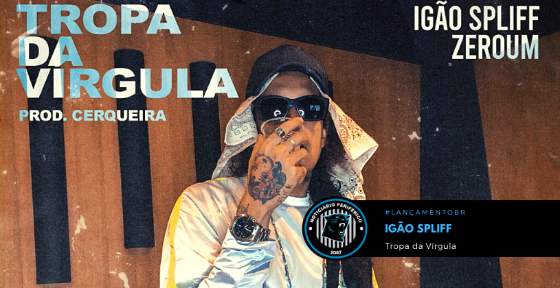 "O rapper Igão Spliff lança o single ""Tropa da Vírgula"""