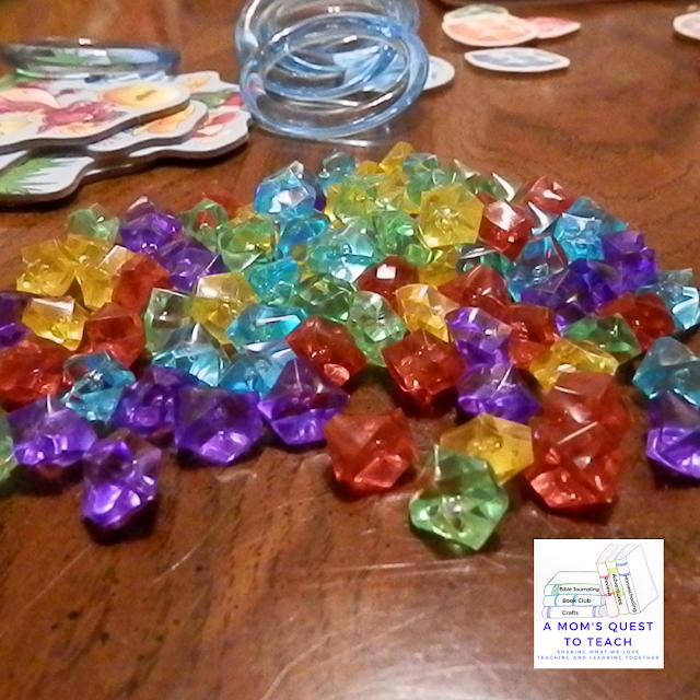 plastic gems from Dragon's Breath