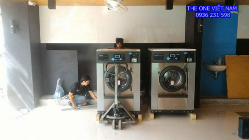 Máy giặt sấy công nghiệp cho trường học