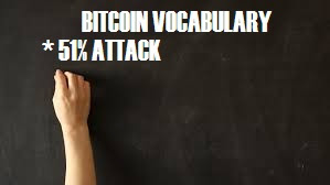 Taking a lecture on bitcoin vocabulary