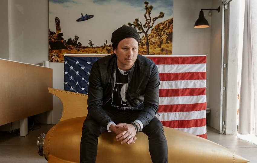 Бывший музыкант Blink 182 Том Делонг снимет свой первый фантастический фильм