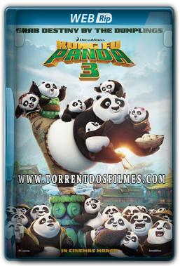 Kung Fu Panda 3 (2016) Torrent – WEB-Rip 720p | 1080p Legendado