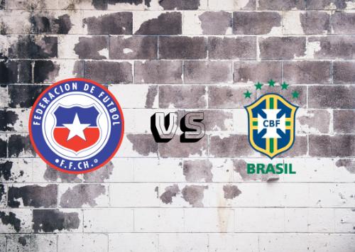 Chile vs Brasil  Resumen y Partido Completo