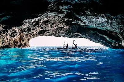 Blue Cave in Montenegro