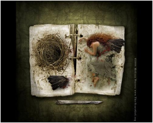 manipulasi anak burung manusia