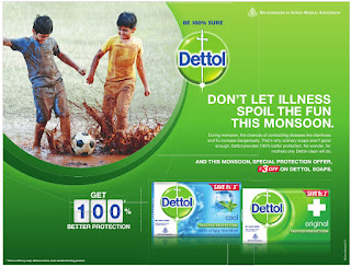 Dettol  dont let illness spoil the fun this monsoon