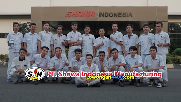PT Showa Indonesia Manufacturing Bulan Juni 2020