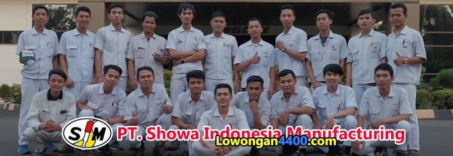 PT Showa Indonesia Manufacturing Bulan Oktober 2020