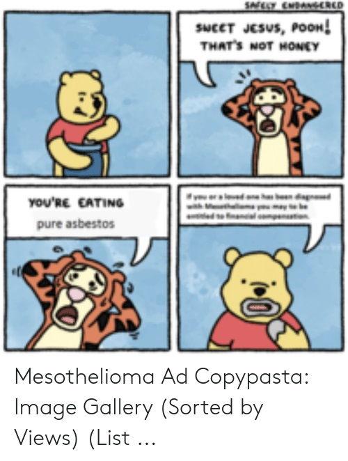 Mesothelioma Meme Copypasta 6