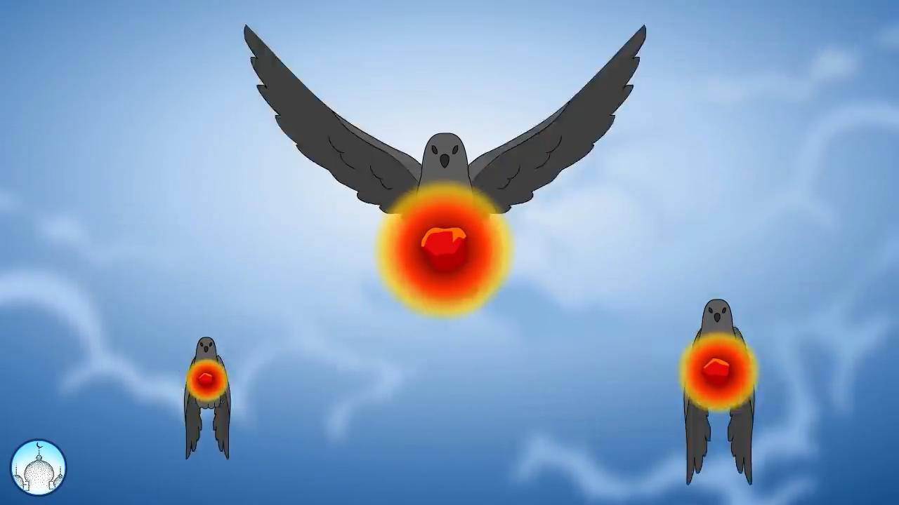 Kisah Burung Ababil Menghancurkan Pasukan Gajah Kartun Anak Muslim Kartun Anak Muslim