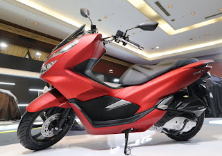 Warna Honda PCX 150 Majestic Matte Red