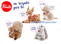Speciale San Valentino : in regalo per te un Peluche grande Trudi a tua scelta del valore di € 54,99