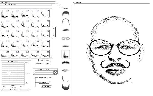 Oh mon FLE: Faire un portrait-robot avec Flash Face