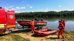 Om de afaceri din Piscu Vechi, dispărut în apele Dunării