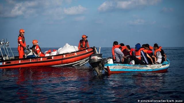إنقاذ 93 تونسيا من الغرق في سواحل لمبدوزا الإيطالية