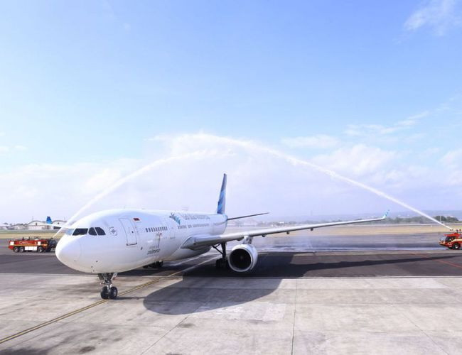 Xvlor Garuda Indonesia launched Denpasar-Mumbai direct flight route