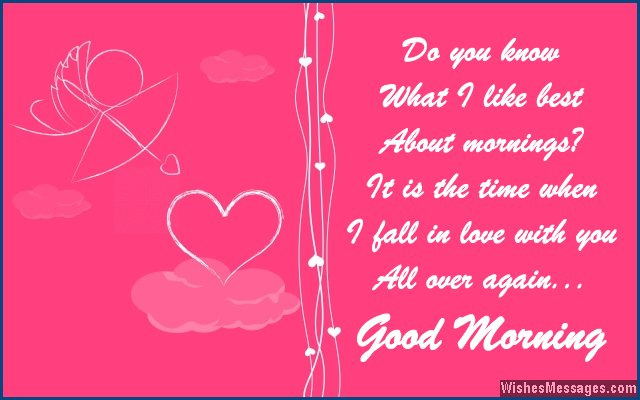 Sweet Good Morning Messages For Him or Her - Love Messages