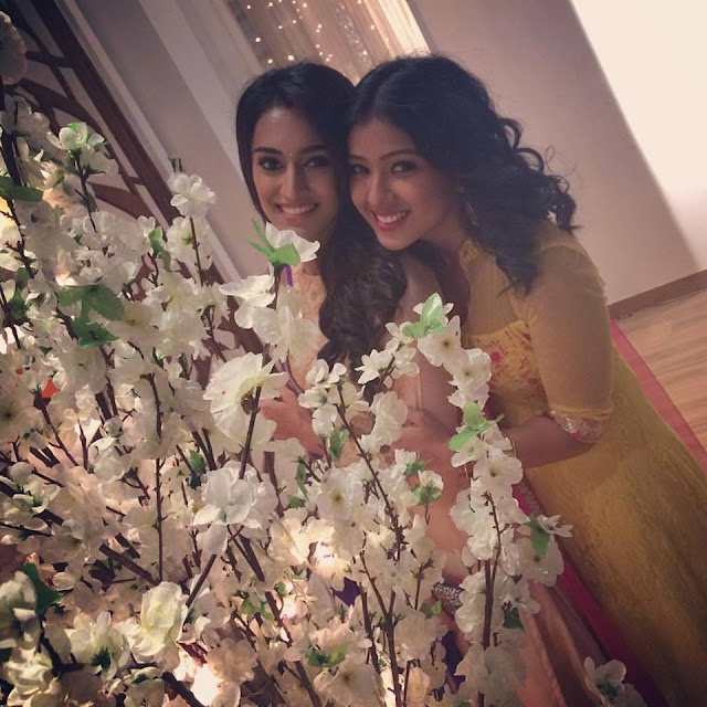 Prerna Panwar and Erica Fernandes
