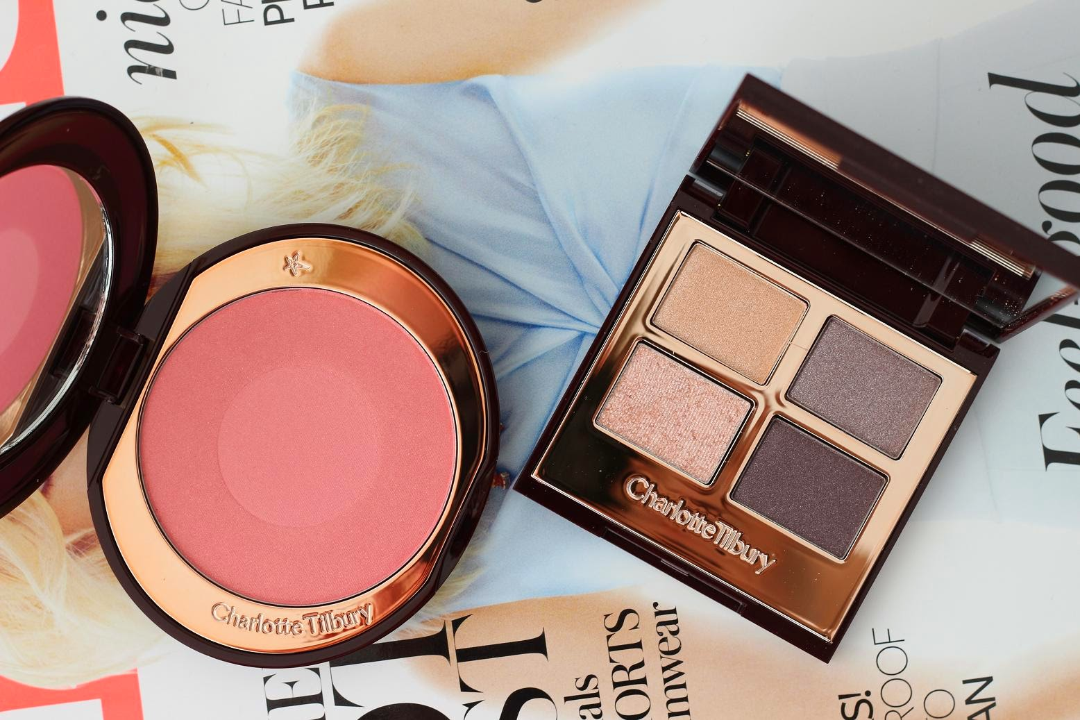 Charlotte Tilbury Luxury Palette - Cheek to Chic