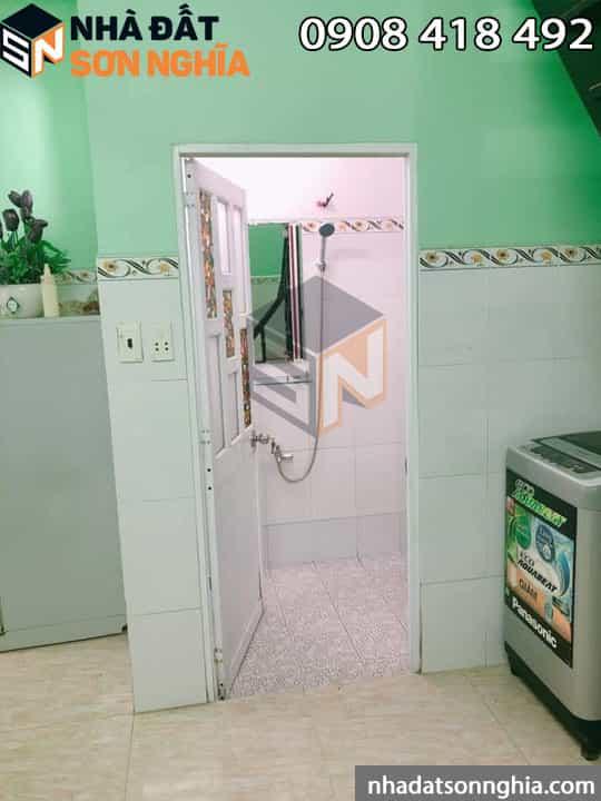 Nhà gồm 2 phòng ngủ 1 toilet