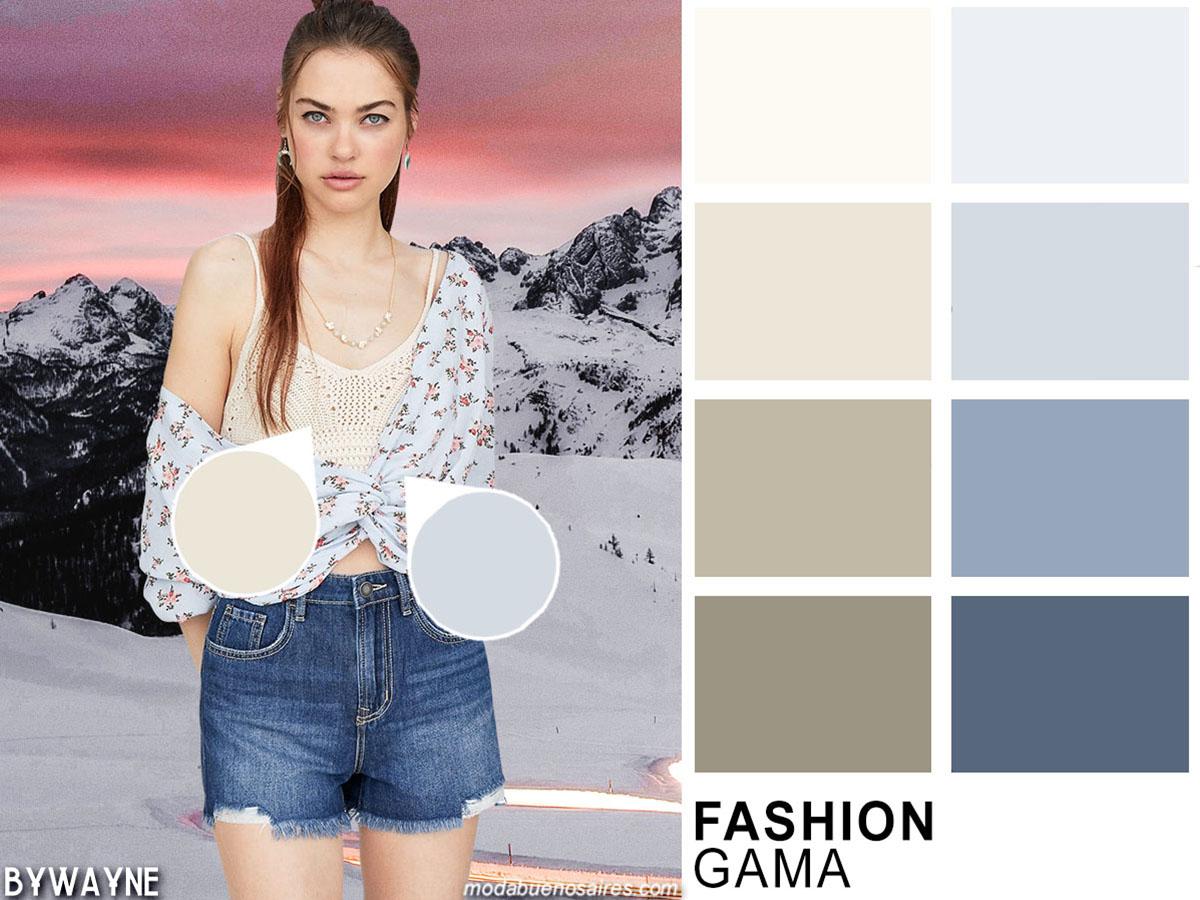Colores de moda verano 2020. Ropa de mujer colores de moda primavera verano 2020.