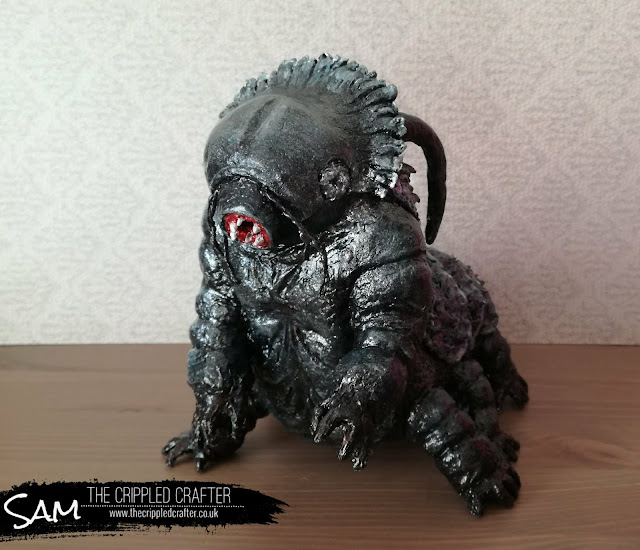 Ripper Tardigrade Sculpture by Sam Lewis AKA The Cripple Crafter | Star Trek Discovery