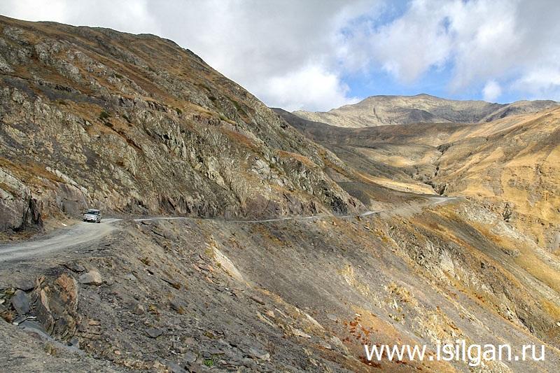 Дорога в Тушетию