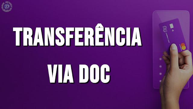 NuConta agora  pode receber transferências via DOC