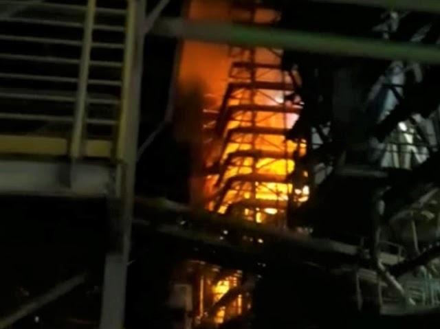 Forno da empresa RHI Magnesita explode em Brumado