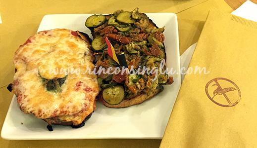 bruschetta sin gluten en roma