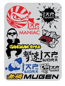 ini mentahan stiker sponsor racing terbaru