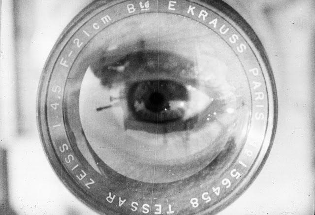 Close up eye Kino Pravda