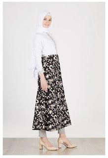 Permalink to Koleksi Baju Muslim Batik Modern Motif Terbaru 2017