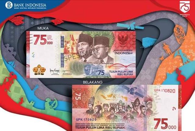 Kontroversial dan Banyak Dikritik! Simpang Siur Fungsi Uang Baru Rp75.000, Alat Transaksi Pembayaran Atau Cuma Koleksi? BI Berikan Penjelasan