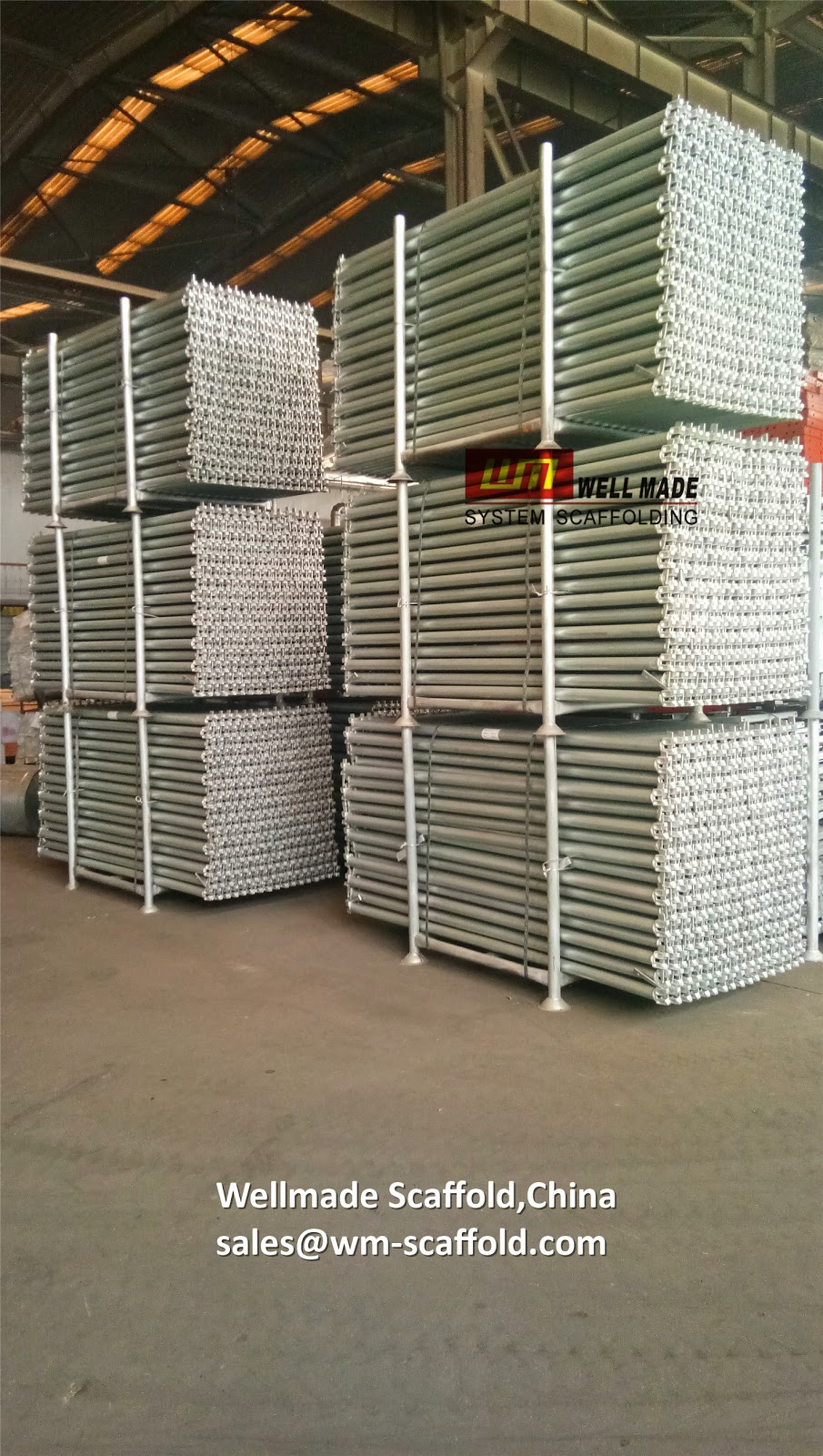 Ringlock Scaffolding Ledgers to Singapore Construction 2 07m