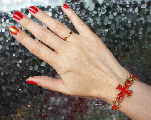 Bracelet Croix des templiers Missiu