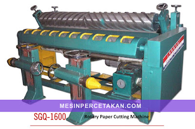 Roll to Sheet Cutting Machine SGQ-1600