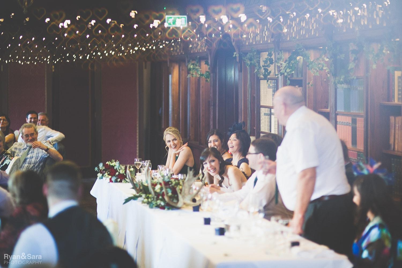 wedding breakfast, speech