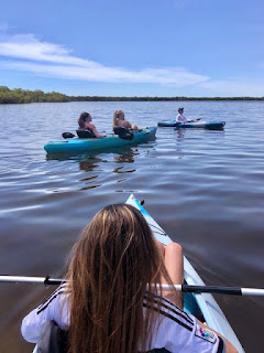 kyaking with tarpon bay explorers